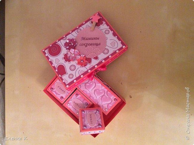 Моё последнее творение - коробочка для маленькой принцессы. фото 12