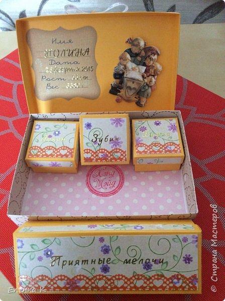 Моё последнее творение - коробочка для маленькой принцессы. фото 16