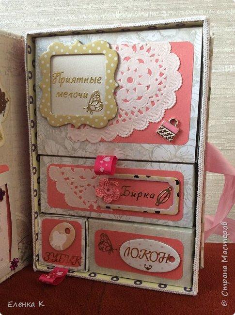 Моё последнее творение - коробочка для маленькой принцессы. фото 5