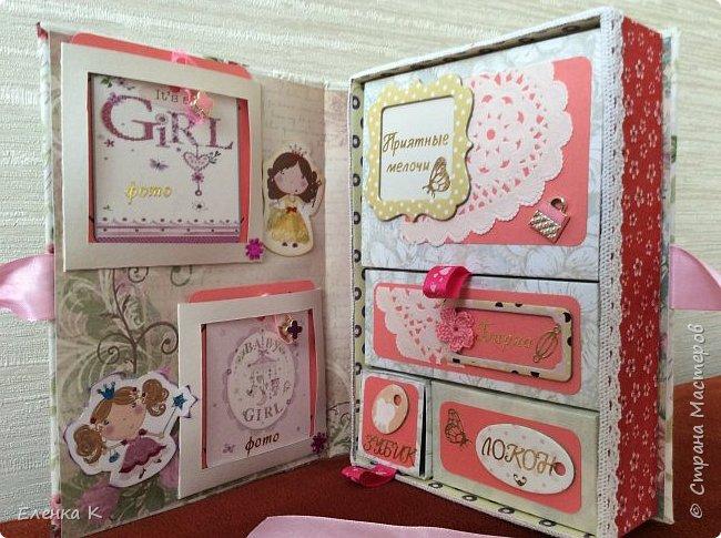Моё последнее творение - коробочка для маленькой принцессы. фото 4