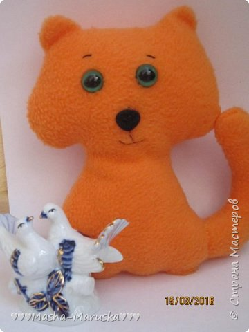 Приветики всем))) Сегодня покажу Котика) Выкройка есть в моей группе Вконтакте) фото 3
