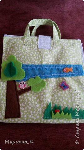 Сшила сумочку- домик для своей старшей дочки. Большое спасибо Rostoff и Наталии Науменко за идеи. Дверца домика - на липучке. Колокольчик звенит.  фото 2
