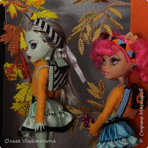 Школьный портфель для кукол