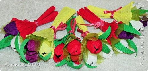 """Сладкая корзинка с розами. всего 15 штук, конфетка """"Марсианка"""" фото 10"""
