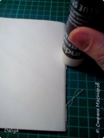 Обещанный МК по обложке Блокнота, но я решила, что нужно начать с самого начала. Итак, блок бумаги, листов блокнота. Я взяла маленький размер листочков 21*14 см фото 13