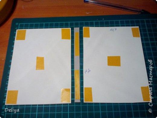 МК №2 по созданию блокнота в мягкой тканевой обложке фото 3