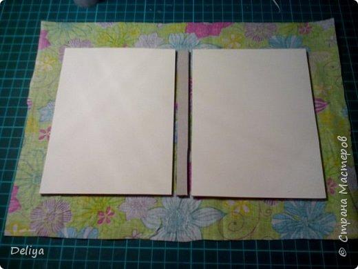 МК №2 по созданию блокнота в мягкой тканевой обложке фото 5
