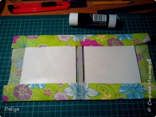МК №2 по созданию блокнота в мягкой тканевой обложке фото 6