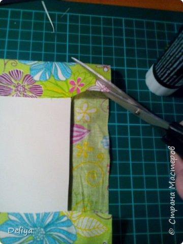 МК №2 по созданию блокнота в мягкой тканевой обложке фото 7