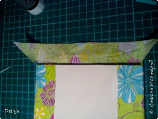 МК №2 по созданию блокнота в мягкой тканевой обложке фото 8