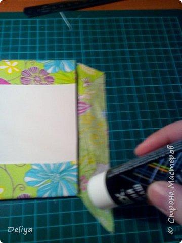 МК №2 по созданию блокнота в мягкой тканевой обложке фото 9