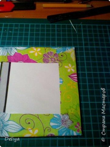 МК №2 по созданию блокнота в мягкой тканевой обложке фото 10