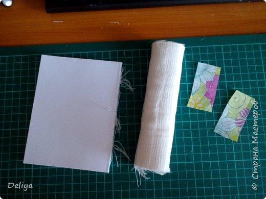 МК №2 по созданию блокнота в мягкой тканевой обложке фото 11