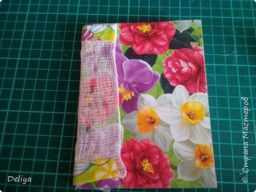 МК №2 по созданию блокнота в мягкой тканевой обложке фото 17