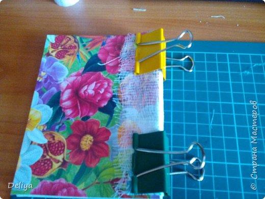 МК №2 по созданию блокнота в мягкой тканевой обложке фото 18