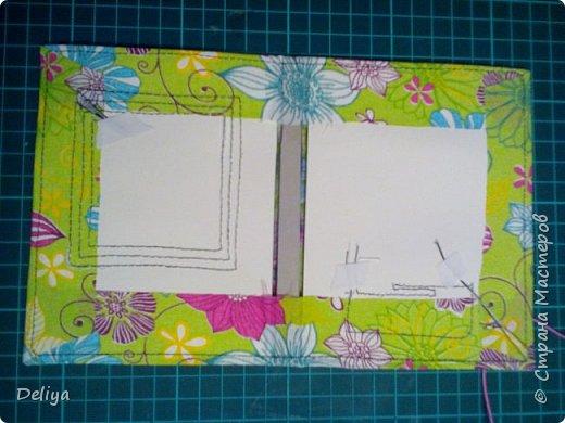 МК №2 по созданию блокнота в мягкой тканевой обложке фото 21