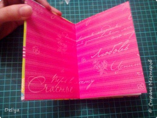 МК №2 по созданию блокнота в мягкой тканевой обложке фото 24