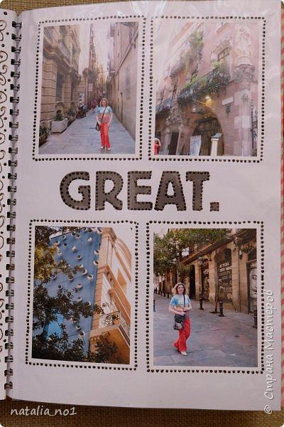 Привет страна и все её замечательные жители! И снова я) Давно мечтала заняться разбором фотографий и оформлением их в скраб-альбоме. Вот первая ласточка (хотя я уже делала раньше на заказ альбомы, но для посторонних людей - а тут своё....родное)))) Этот альбом посвящен поездке в Испанию в августе 2015 года фото 24
