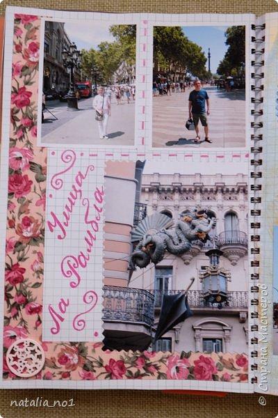 Привет страна и все её замечательные жители! И снова я) Давно мечтала заняться разбором фотографий и оформлением их в скраб-альбоме. Вот первая ласточка (хотя я уже делала раньше на заказ альбомы, но для посторонних людей - а тут своё....родное)))) Этот альбом посвящен поездке в Испанию в августе 2015 года фото 30