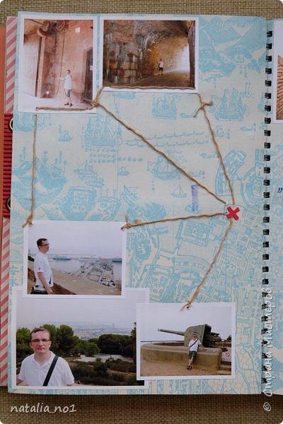 Привет страна и все её замечательные жители! И снова я) Давно мечтала заняться разбором фотографий и оформлением их в скраб-альбоме. Вот первая ласточка (хотя я уже делала раньше на заказ альбомы, но для посторонних людей - а тут своё....родное)))) Этот альбом посвящен поездке в Испанию в августе 2015 года фото 39