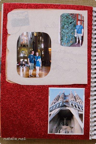 Привет страна и все её замечательные жители! И снова я) Давно мечтала заняться разбором фотографий и оформлением их в скраб-альбоме. Вот первая ласточка (хотя я уже делала раньше на заказ альбомы, но для посторонних людей - а тут своё....родное)))) Этот альбом посвящен поездке в Испанию в августе 2015 года фото 70