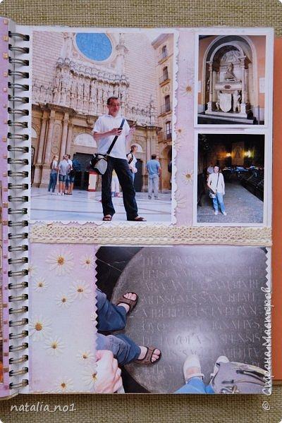 Привет страна и все её замечательные жители! И снова я) Давно мечтала заняться разбором фотографий и оформлением их в скраб-альбоме. Вот первая ласточка (хотя я уже делала раньше на заказ альбомы, но для посторонних людей - а тут своё....родное)))) Этот альбом посвящен поездке в Испанию в августе 2015 года фото 131