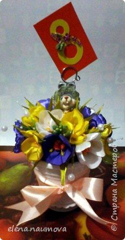 Цветы на 8 марта. фото 2
