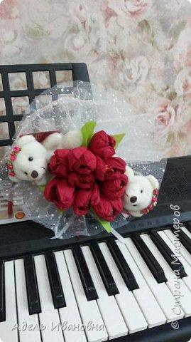 Почему -  красный мак))) хотя это тюльпаны, да потому что в моих тюльпанах конфетки - Красный мак. Ммммм, вкусненько. фото 1