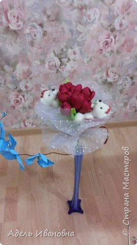 Почему -  красный мак))) хотя это тюльпаны, да потому что в моих тюльпанах конфетки - Красный мак. Ммммм, вкусненько. фото 2