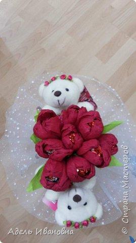 Почему -  красный мак))) хотя это тюльпаны, да потому что в моих тюльпанах конфетки - Красный мак. Ммммм, вкусненько. фото 3