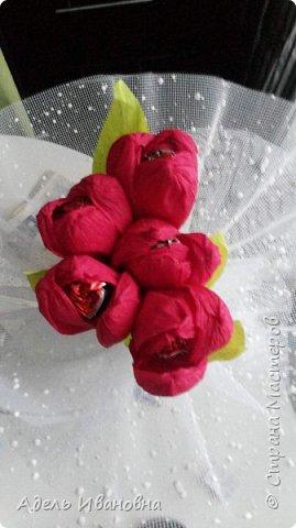 Почему -  красный мак))) хотя это тюльпаны, да потому что в моих тюльпанах конфетки - Красный мак. Ммммм, вкусненько. фото 5