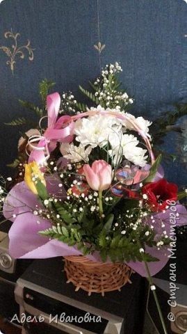 Почему -  красный мак))) хотя это тюльпаны, да потому что в моих тюльпанах конфетки - Красный мак. Ммммм, вкусненько. фото 6
