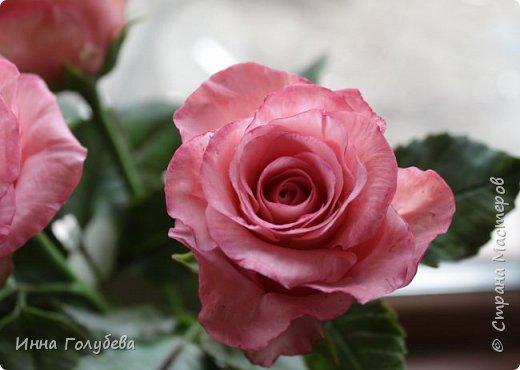 Девочки,и опять я с розами) Надеюсь,вы еще от них не устали.Я,например,уже немного устала,но мои заказы идут в такой последовательности: розы,розы,розы,какие-то другие цветы или композиция и снова розы,розы....Нет,вы не подумайте,я не жалуюсь) Значит буду набирать опыт и навыки на розах) Желаю приятного просмотра) фото 14