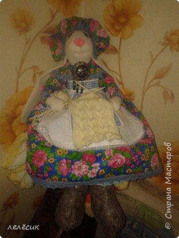 вот такая бабу шка у меня получилась по выкройке и мастер классу Елены Войнатовской фото 1