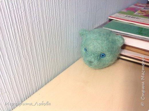 Я создала вот такого мишку, вот он в процессе... фото 1