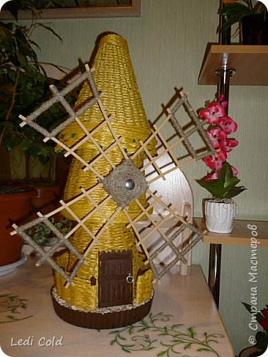 "Декор для сада ""Ветряная мельница"""