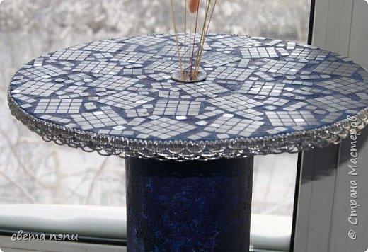 салфетница  внизу холодный фарфор покрашен под серебро. Розы выделены гелем. фото 2