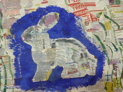 Пасхальный заяц, выполняется так же как и курочки. фото 7