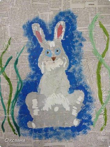 Пасхальный заяц, выполняется так же как и курочки. фото 10