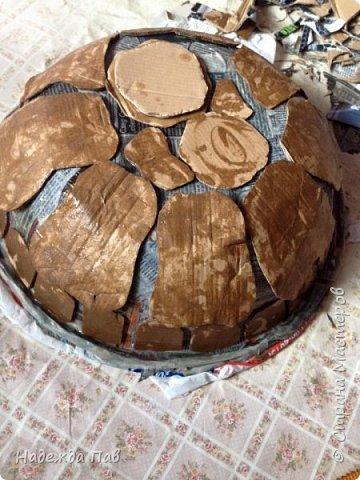 Черепаха papier mashe фото 1