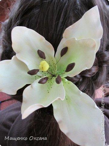 Цветы из фоамирана фото 4