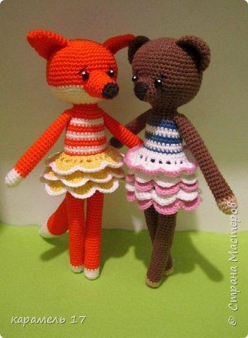 Мишка-девочка Мишель. фото 3