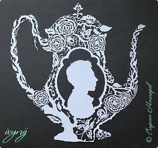 Чайничек с мужским профилем от Мило ( http://milodidit.blogspot.ie/2011/03/tea-dreams-i-ii.html ),вырезала в пару  к женскому(http://stranamasterov.ru/node/908235). фото 1