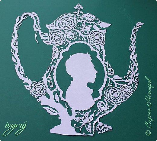 Чайничек с мужским профилем от Мило ( http://milodidit.blogspot.ie/2011/03/tea-dreams-i-ii.html ),вырезала в пару  к женскому(http://stranamasterov.ru/node/908235). фото 2