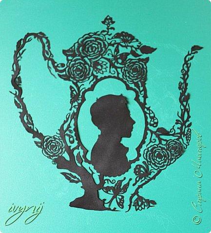 Чайничек с мужским профилем от Мило ( http://milodidit.blogspot.ie/2011/03/tea-dreams-i-ii.html ),вырезала в пару  к женскому(http://stranamasterov.ru/node/908235). фото 3