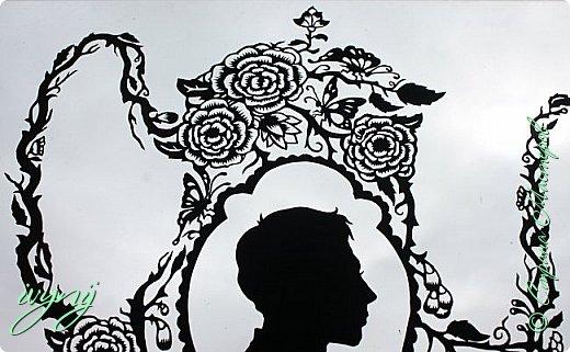 Чайничек с мужским профилем от Мило ( http://milodidit.blogspot.ie/2011/03/tea-dreams-i-ii.html ),вырезала в пару  к женскому(http://stranamasterov.ru/node/908235). фото 5