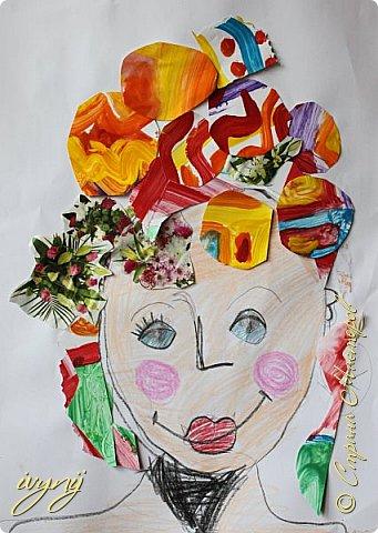 Мой сын ходит на рисование,хочу поделиться результатом его трудов.Ребенку 6 лет.Начал в сентябре и тематика соответствующая...осень....Кое кто решил подправить .. фото 14