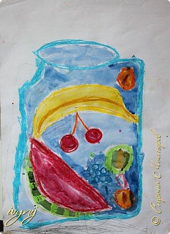 Мой сын ходит на рисование,хочу поделиться результатом его трудов.Ребенку 6 лет.Начал в сентябре и тематика соответствующая...осень....Кое кто решил подправить .. фото 3