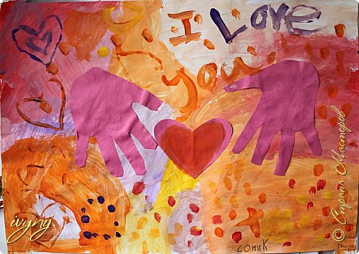 Мой сын ходит на рисование,хочу поделиться результатом его трудов.Ребенку 6 лет.Начал в сентябре и тематика соответствующая...осень....Кое кто решил подправить .. фото 11