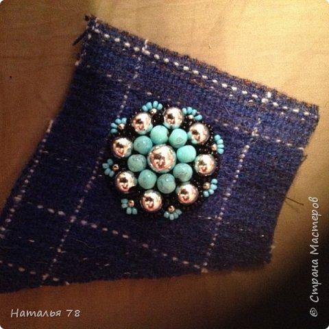 Вот такая брошь у меня получилась, делала ее для пончо, цвета драпа, из которого выполнены лепестки. фото 4